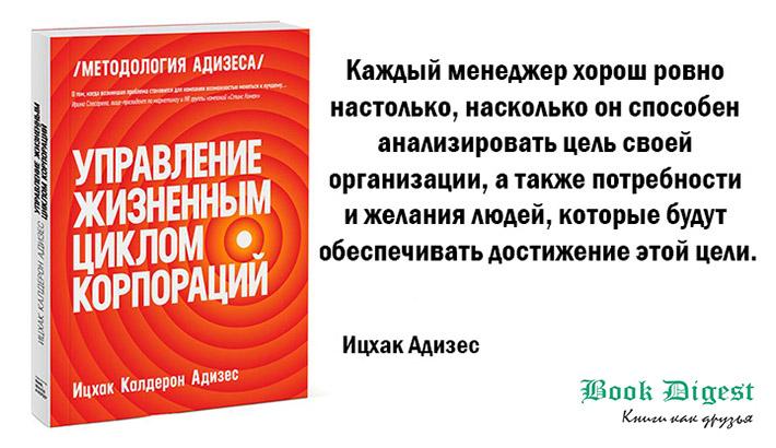 Ицхак Адизес «Управление жизненным циклом корпорации»